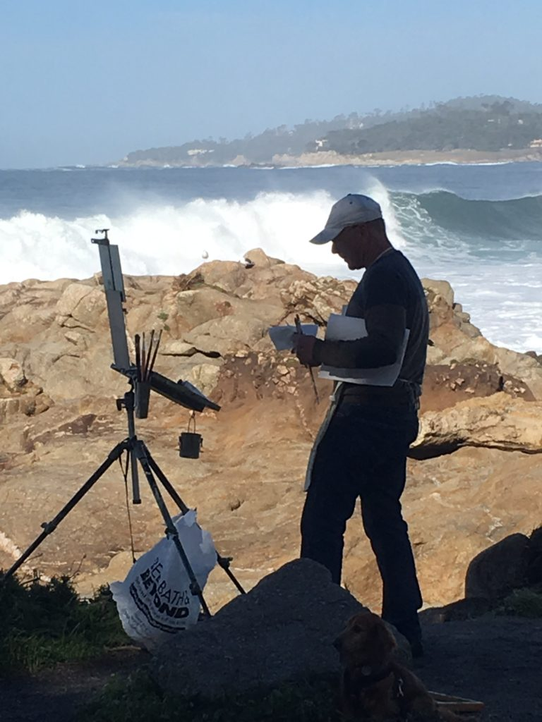 Laguna Plein Air Signature Artist Jeff Horn - August 2017 Member of the Month