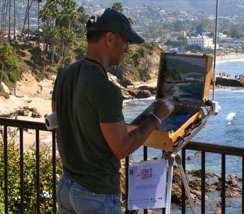 Laguna Plein Air Artist Michael Alten