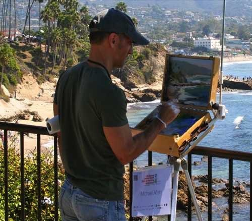 Laguna Plein Air Artist Michael Alten