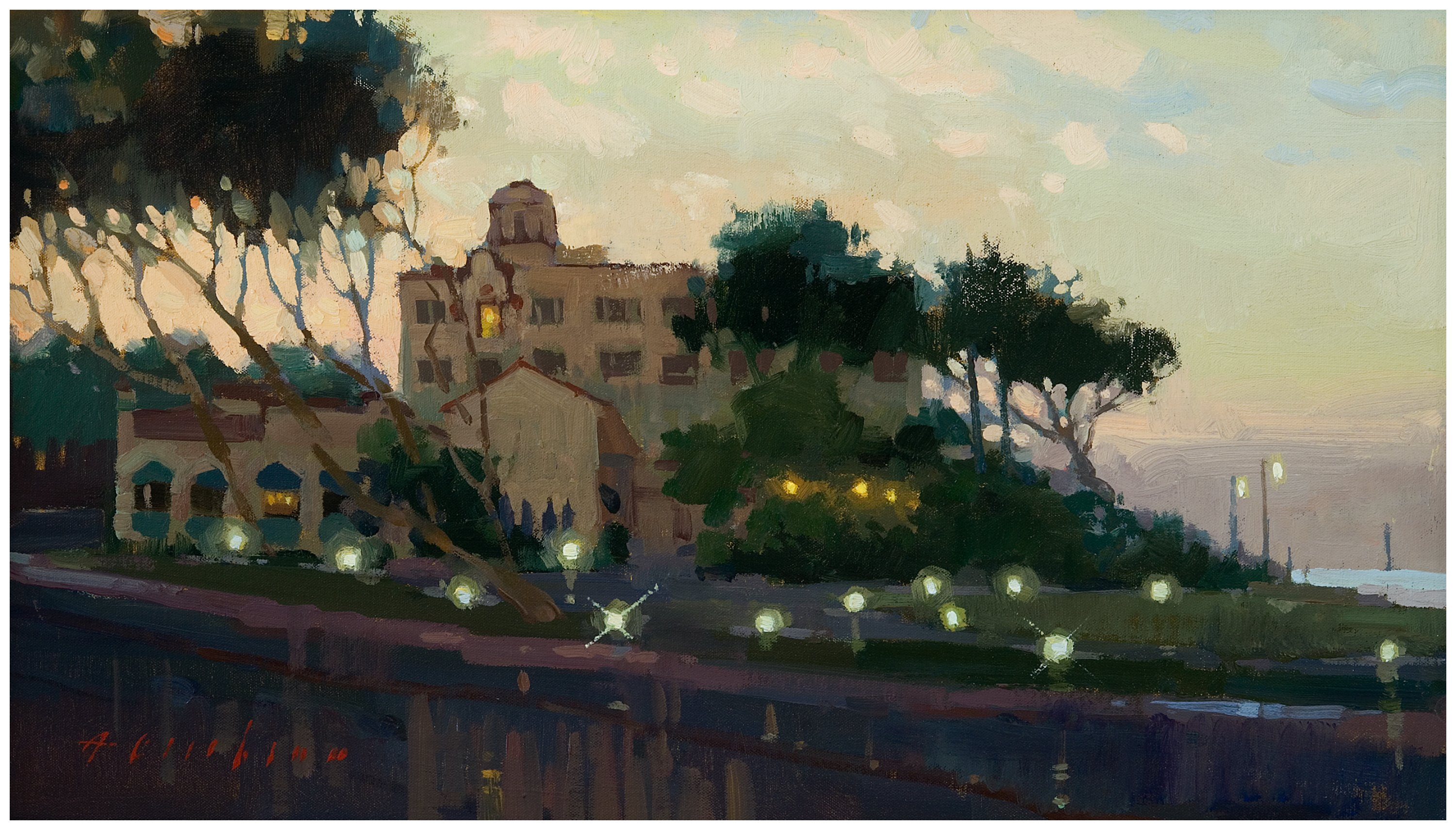 2017 Laguna Plein Air Best in Show, Before Sunrise by Aimee Erickson