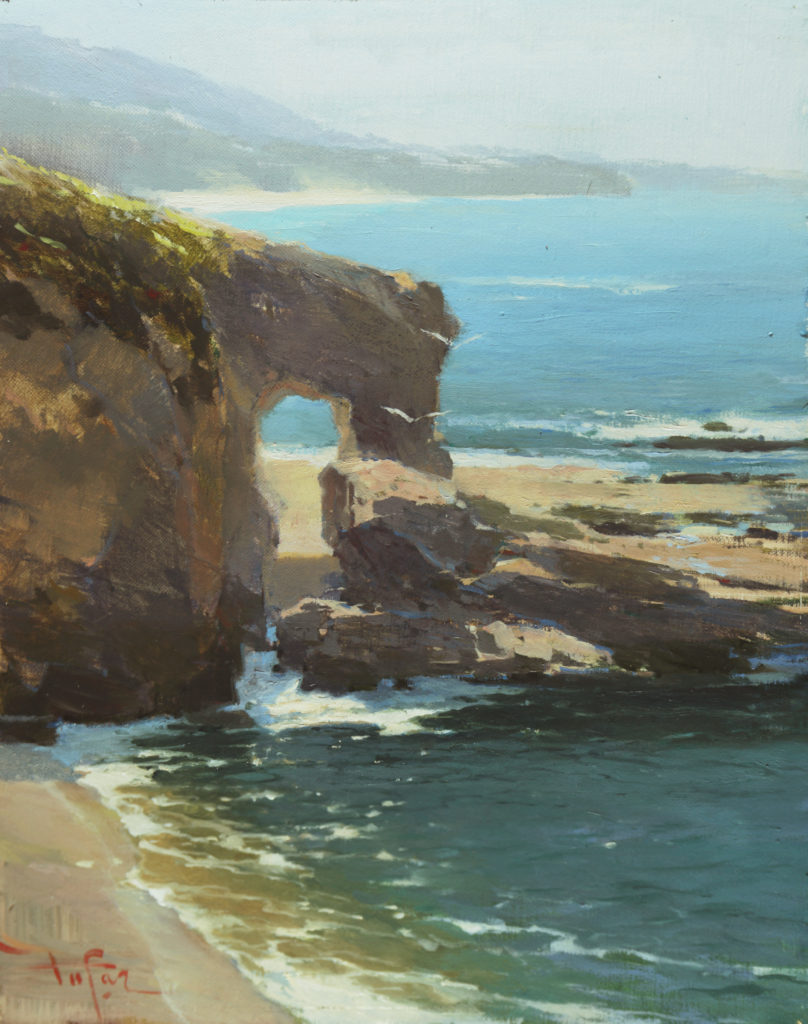 Treasure Arch by Laguna Plein Air Artist Zufar Bikbov
