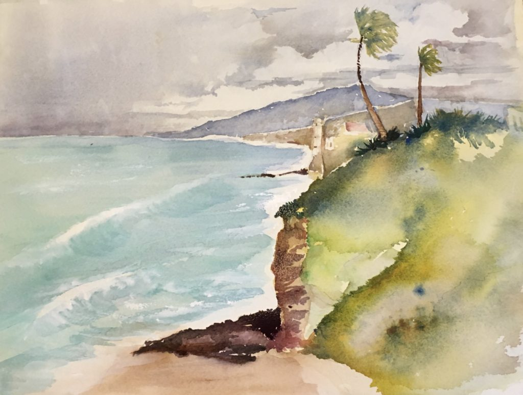 Laguna Plein Air Artist Tom Ashbrook