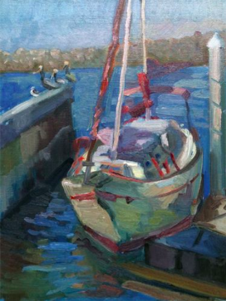 Laguna Plein Air Artist Jennifer Siegal