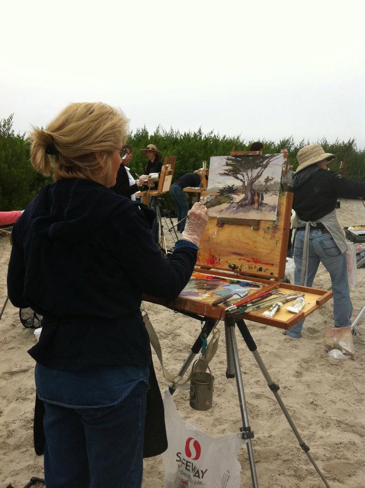 Laguna Plein Air Artist Cindy Wilbur