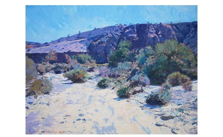 LPAPA Artist Mark Kerckhoff December Plein Air Painting Workshop