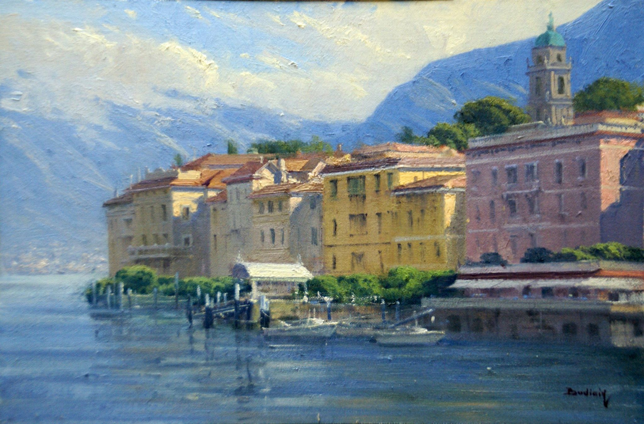 Laguna Plein Air Artist John Budicin Italy painting workshop
