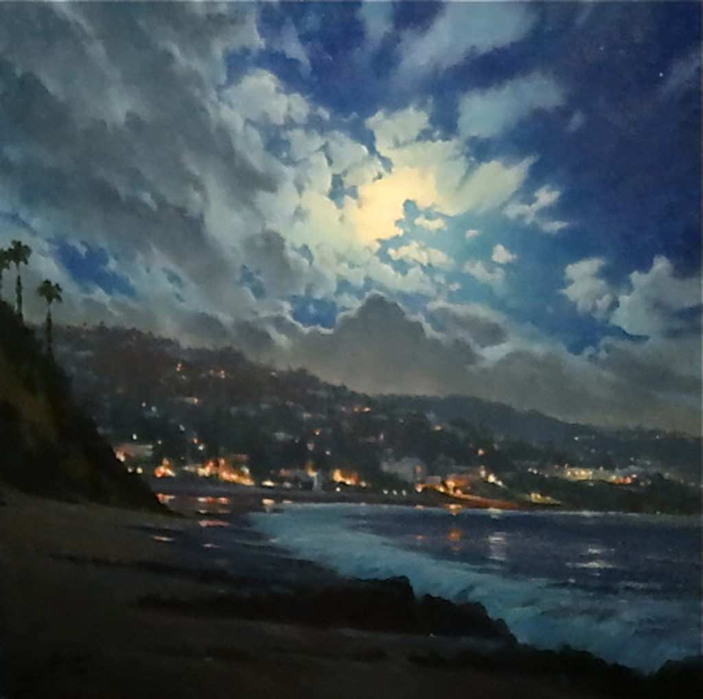 Laguna Plein Air Artist Michael Obermeyer