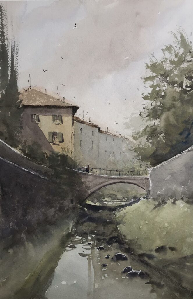Tuscan Canal by Daniel Marshall