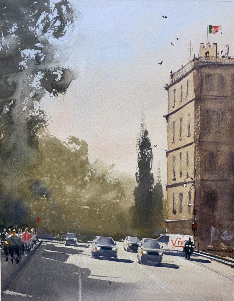 LPAPA Signature Artist Daniel Marshall - Viva Italia