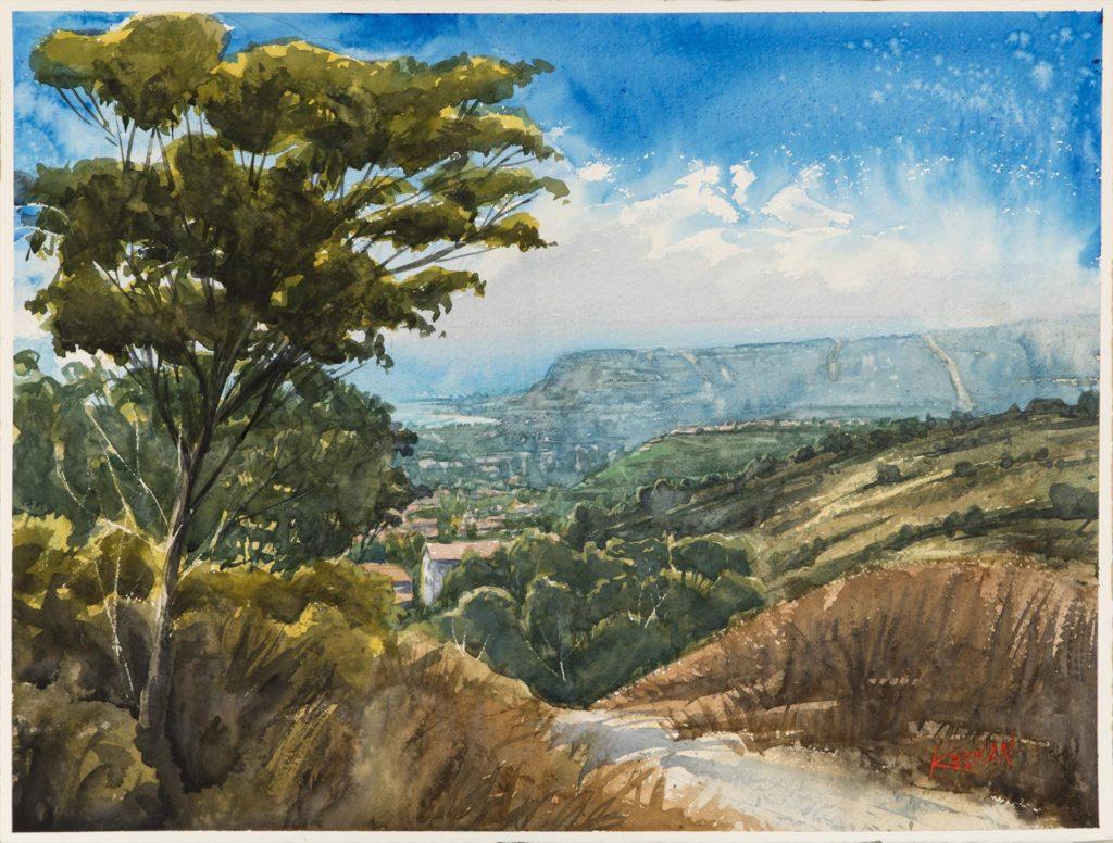 "James Keenan's ""Coastal Trail"""