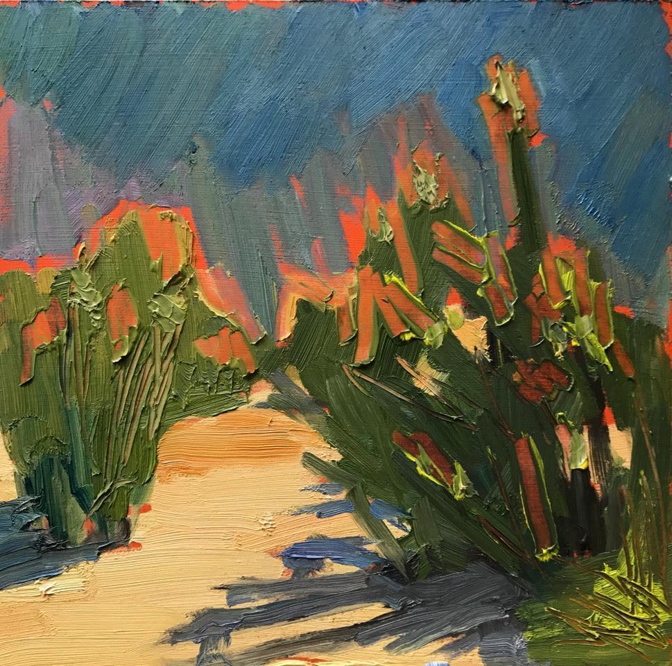 Laguna Plain Air Painter Cathy Wessels