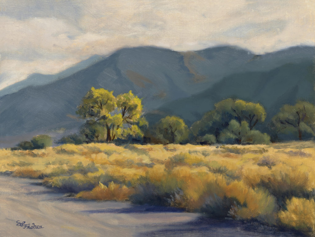 Laguna Plein Air Artist Sandy Fisher
