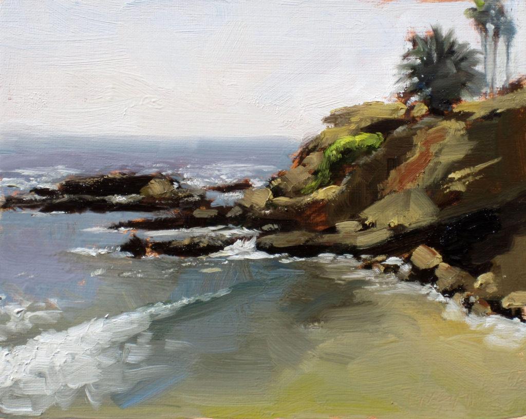 Laguna plein air painter Dan Graziano