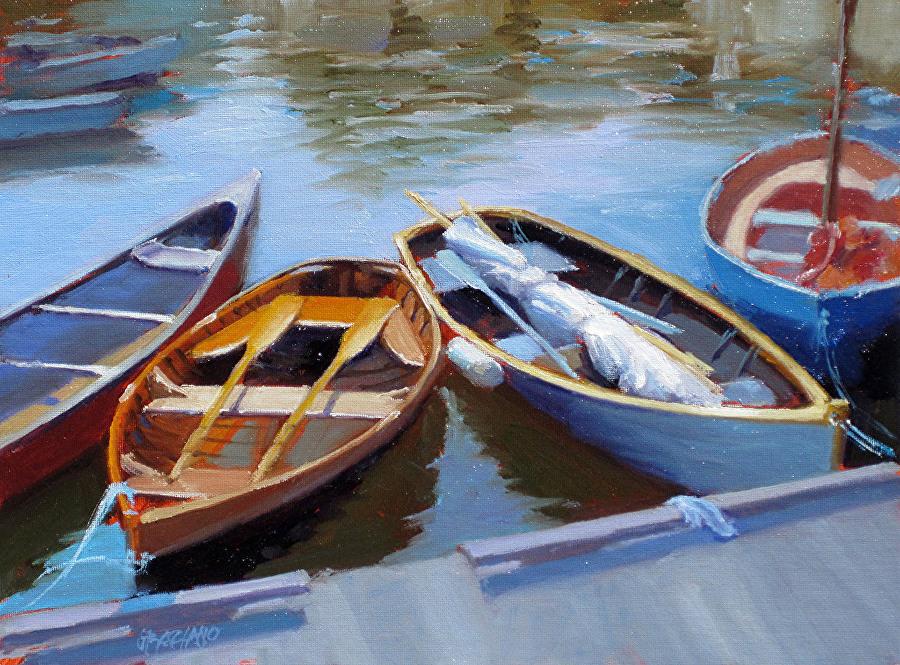 Laguna Plein Air Artist Dan Graziano painting workshop