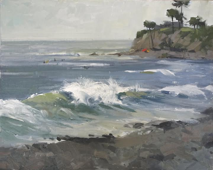 Laguna Plein Air Artist Lyn Boyer