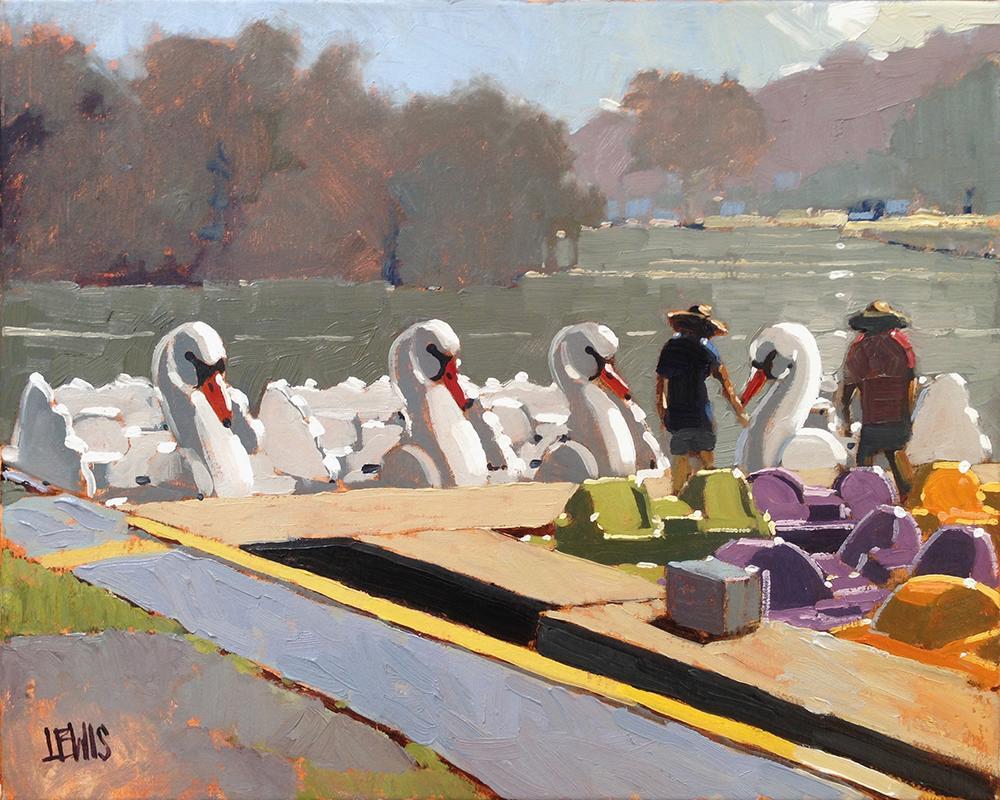 Laguna Plein Air Artist Robert Lewis