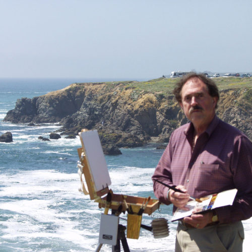 Laguna Plein Air Signature Artist Larry Cannon