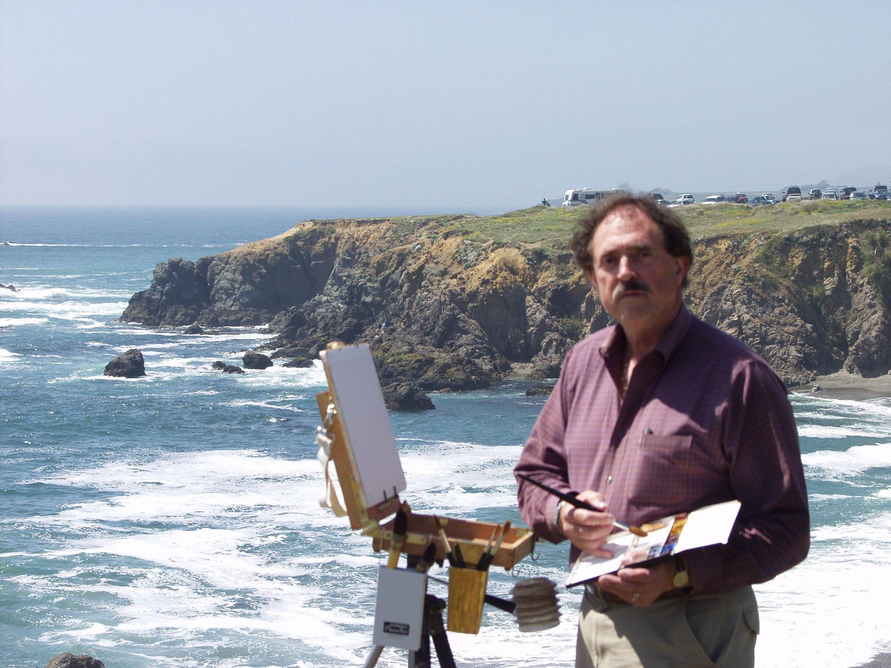Laguna Plein Air Signature Artist Larry Cannon
