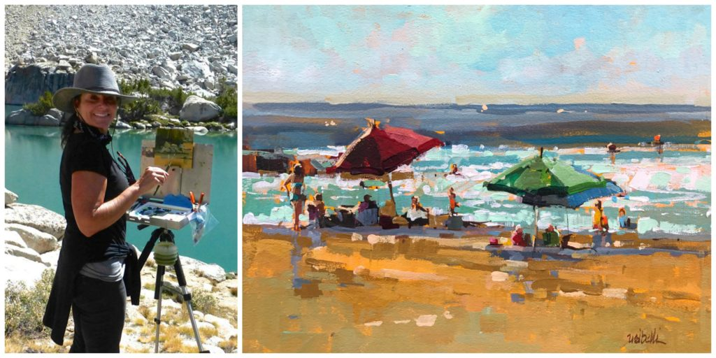 Laguna Plein Air Artist Michele Usibelli - April 2018