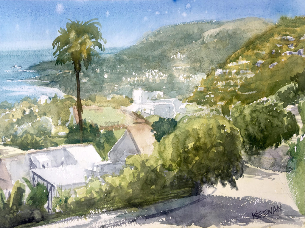 Laguna Plein Air Artist James Keenan