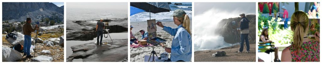 2018 Laguna Plein Air Invitational Artists