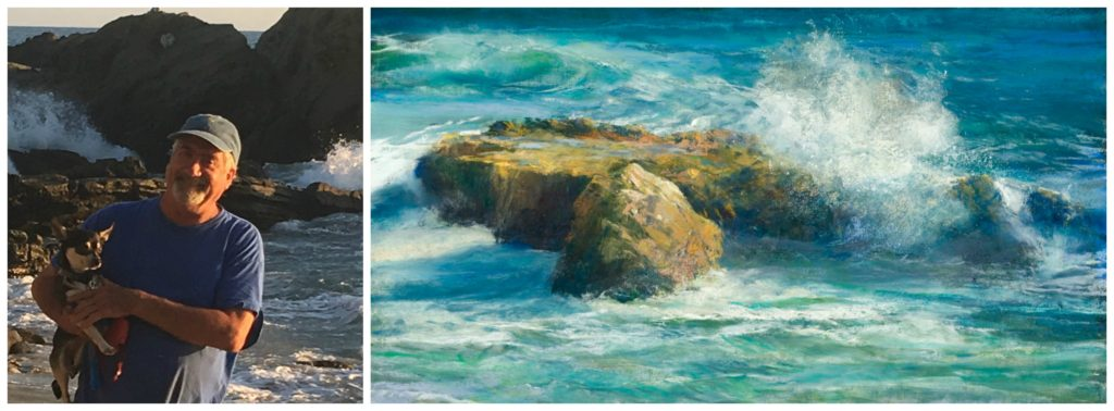 Laguna Plein Air Signature Artist Gil Dellinger