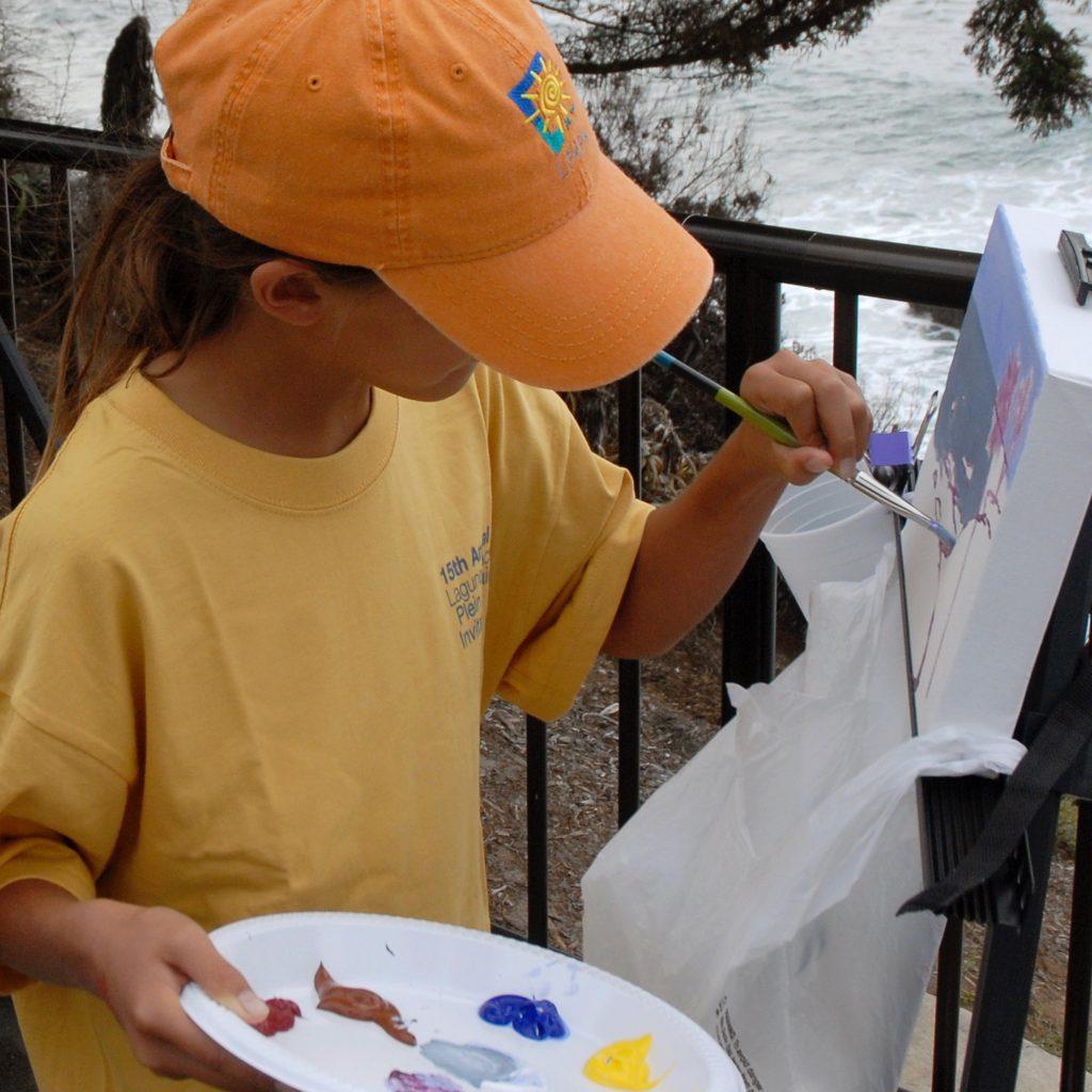 Laguna Plein Air Kids Paint Out
