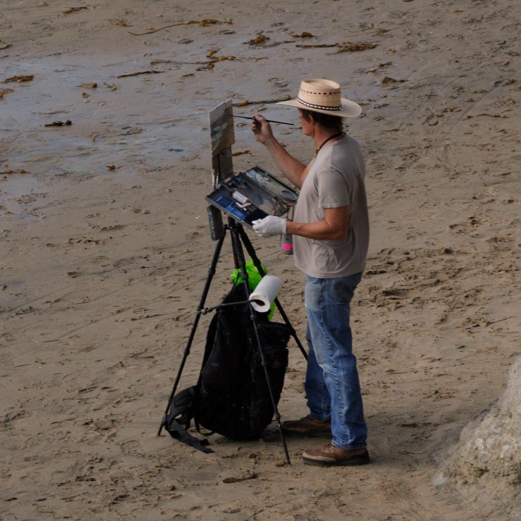 Laguna Plein Air Artist Jeff Sewell