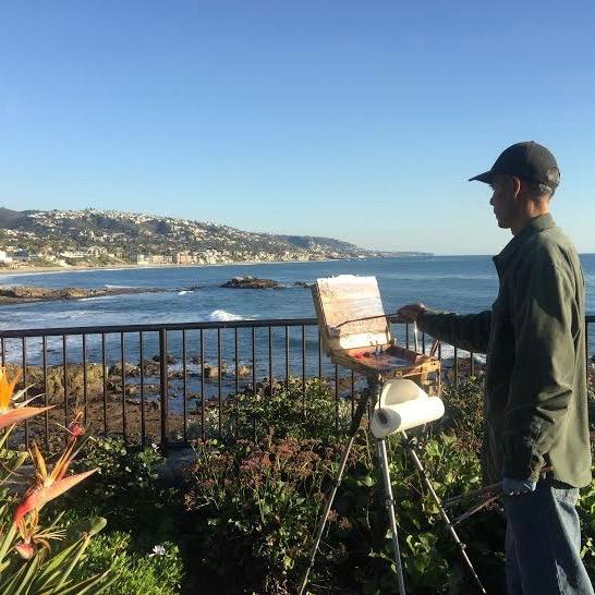 Laguna Plein Air Signature Artist Michael Situ