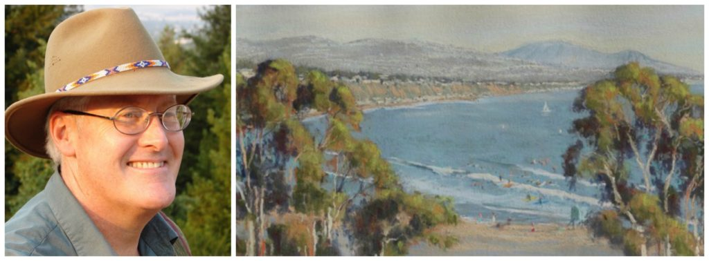 Laguna Plein Air Signature Artist Clark Mitchell
