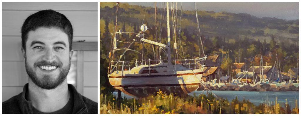 Laguna Plein Air Artist Dan Mondloch