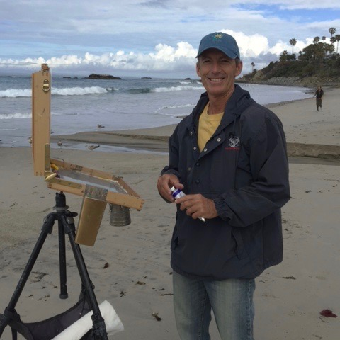 Laguna Plein Air Invitational Artist Michael Obermeyer