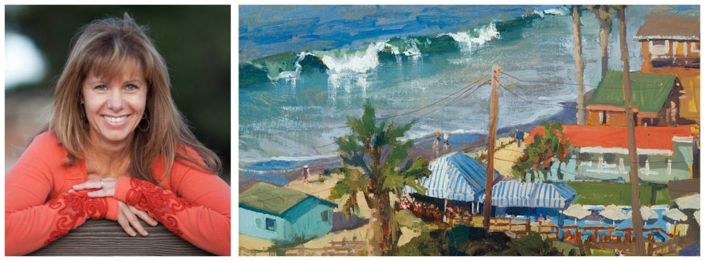 Laguna Plein Air Signature Artist Rita Pacheco