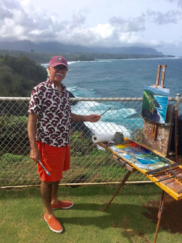 Laguna Plein Air Signature Artist & Founder Saim Caglayan