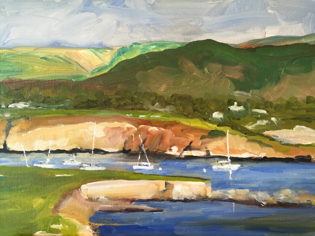 Laguna Plein Air Artist Stephen A. Schendel