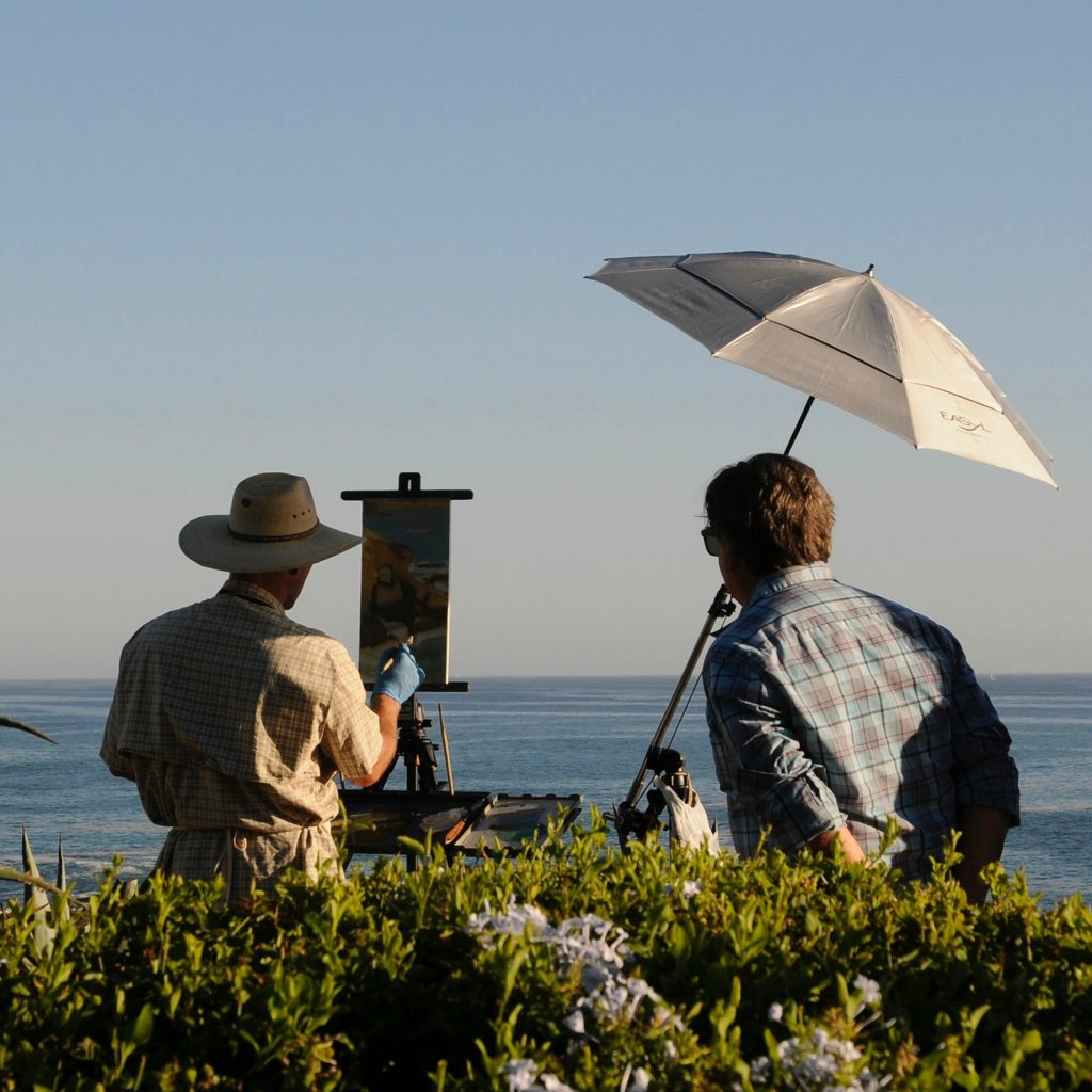 Laguna Plein Air Artists Painting