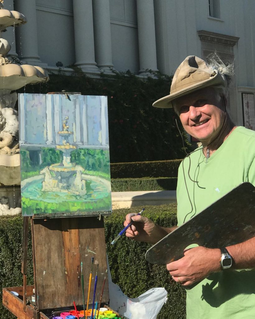 Laguna Plein Air Artist Peter Adams