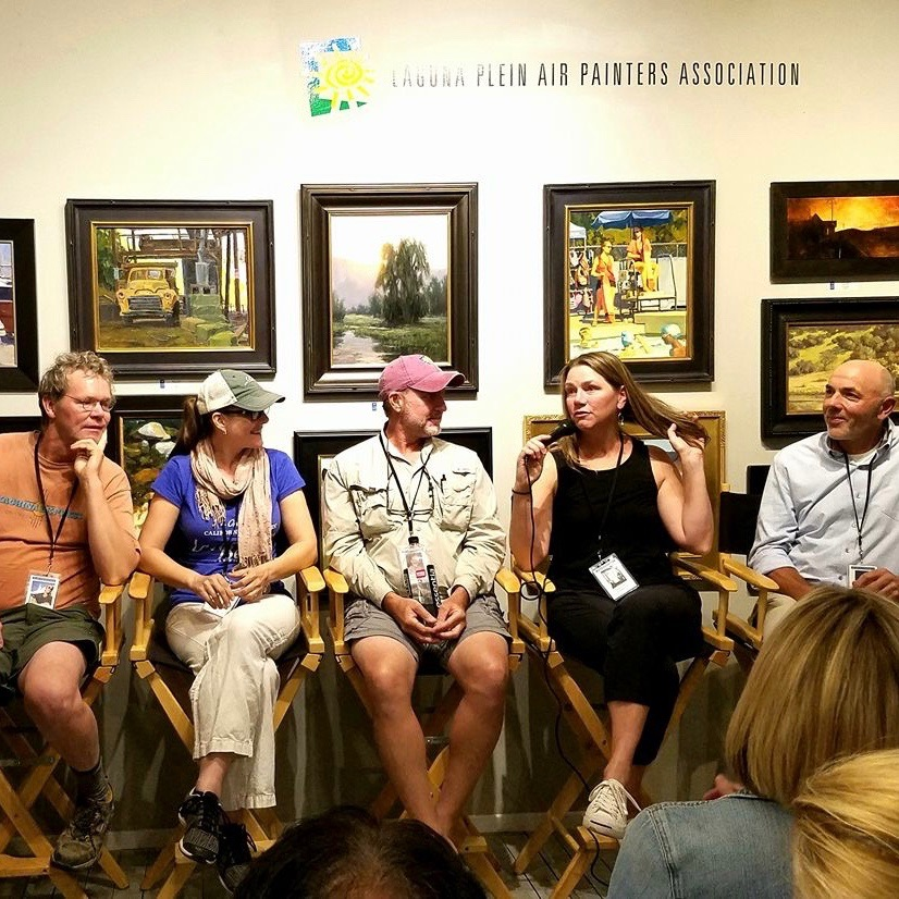 laguna plein air invitational artist talk