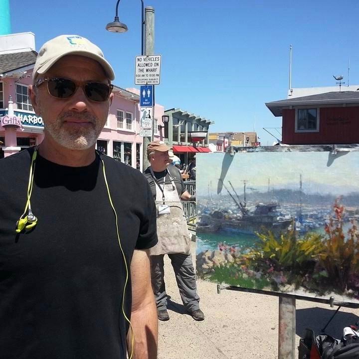Laguna Plein Air Invitational Artist Carl Bretzke
