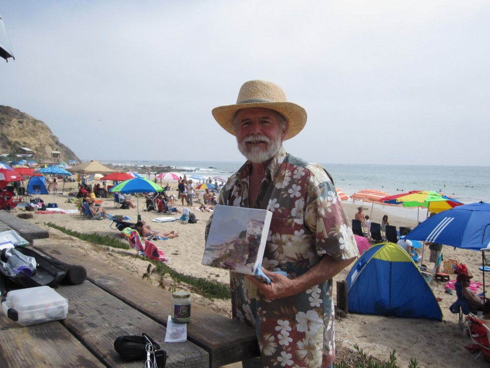 Laguna Plein Air Signature Artist David Solomon