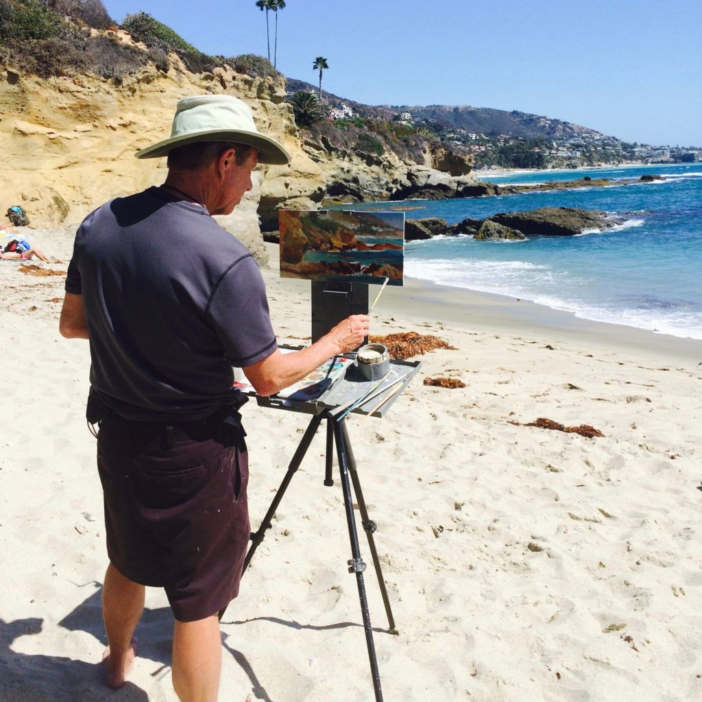 Laguna Plein Air Invitational Artists Rick J. Delanty
