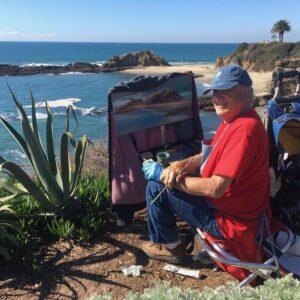 Laguna Plein Air Invitational Artist Gil Dellinger