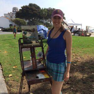 Laguna Plein Air Signature Artist Jennifer Diehl