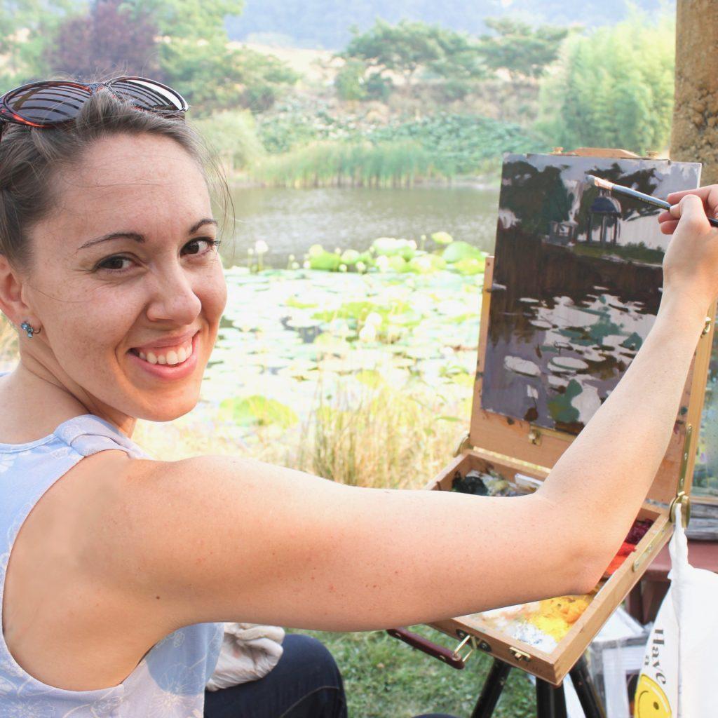 Laguna Plein Air Artist Jennifer Diehl