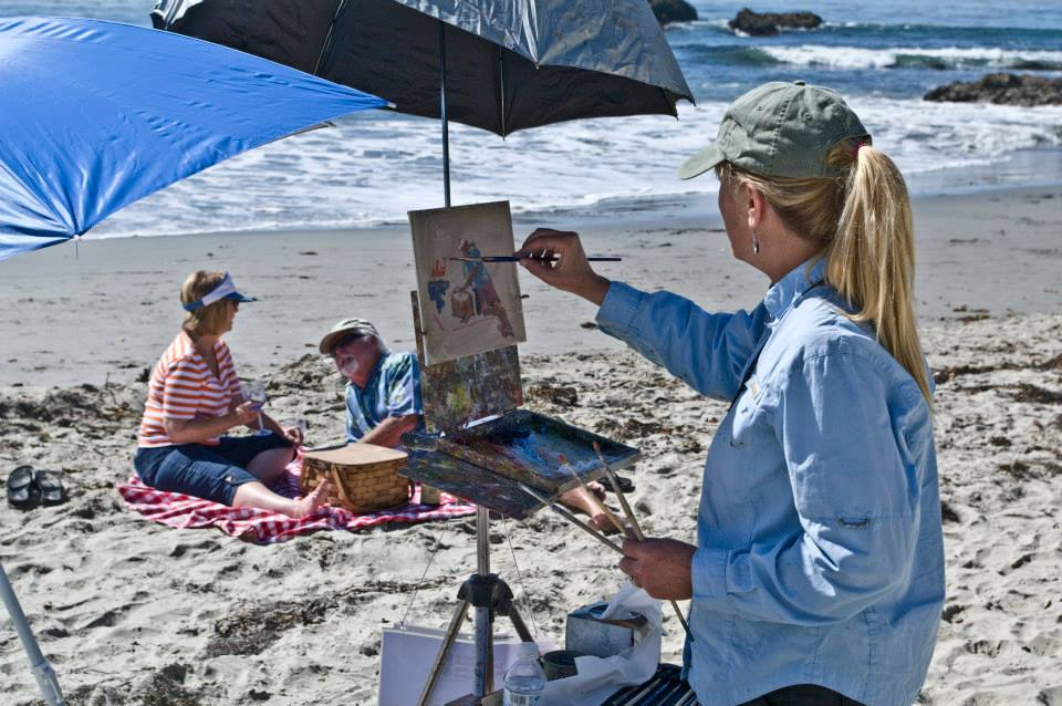 Laguna Plein Air Signature Artist Debra Huse