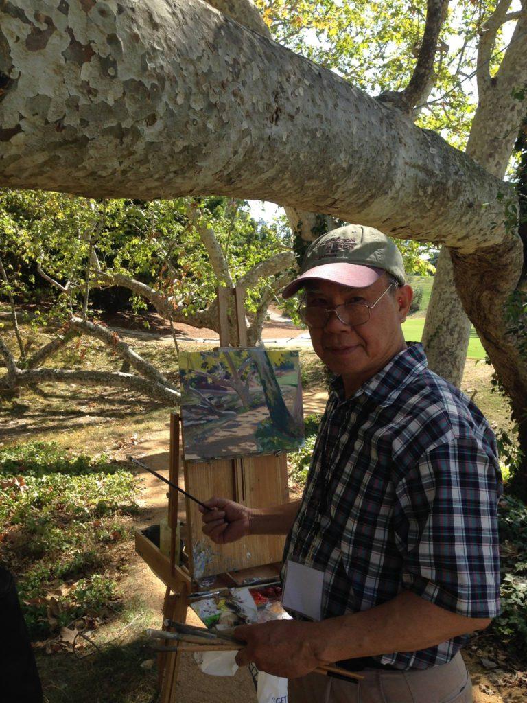 Laguna Plein Air Artist W. Jason Situ