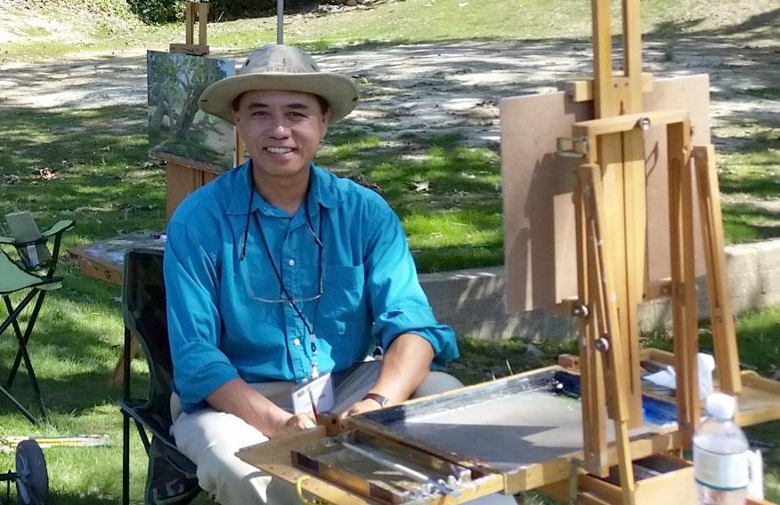 Laguna Plein Air Signature Artist Calvin Liang