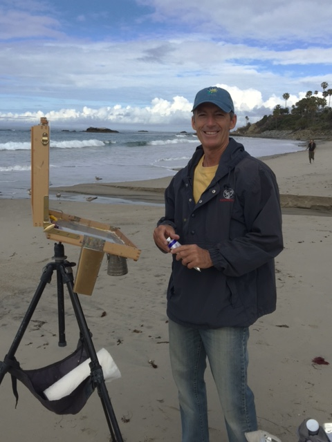 Laguna Plein Air Signature Artist Michael Obermeyer