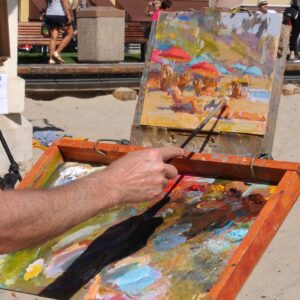 Painting Demonstrations: Friday October 12th
