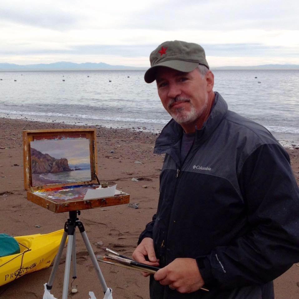 Laguna Plein Air Artist Joseph Paquet